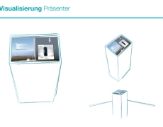 SIEMENS // Interactive POS exhibit