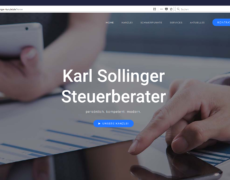 Tax office Sollinger // Webdesign