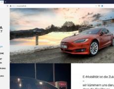 Teslaanwalt // Website